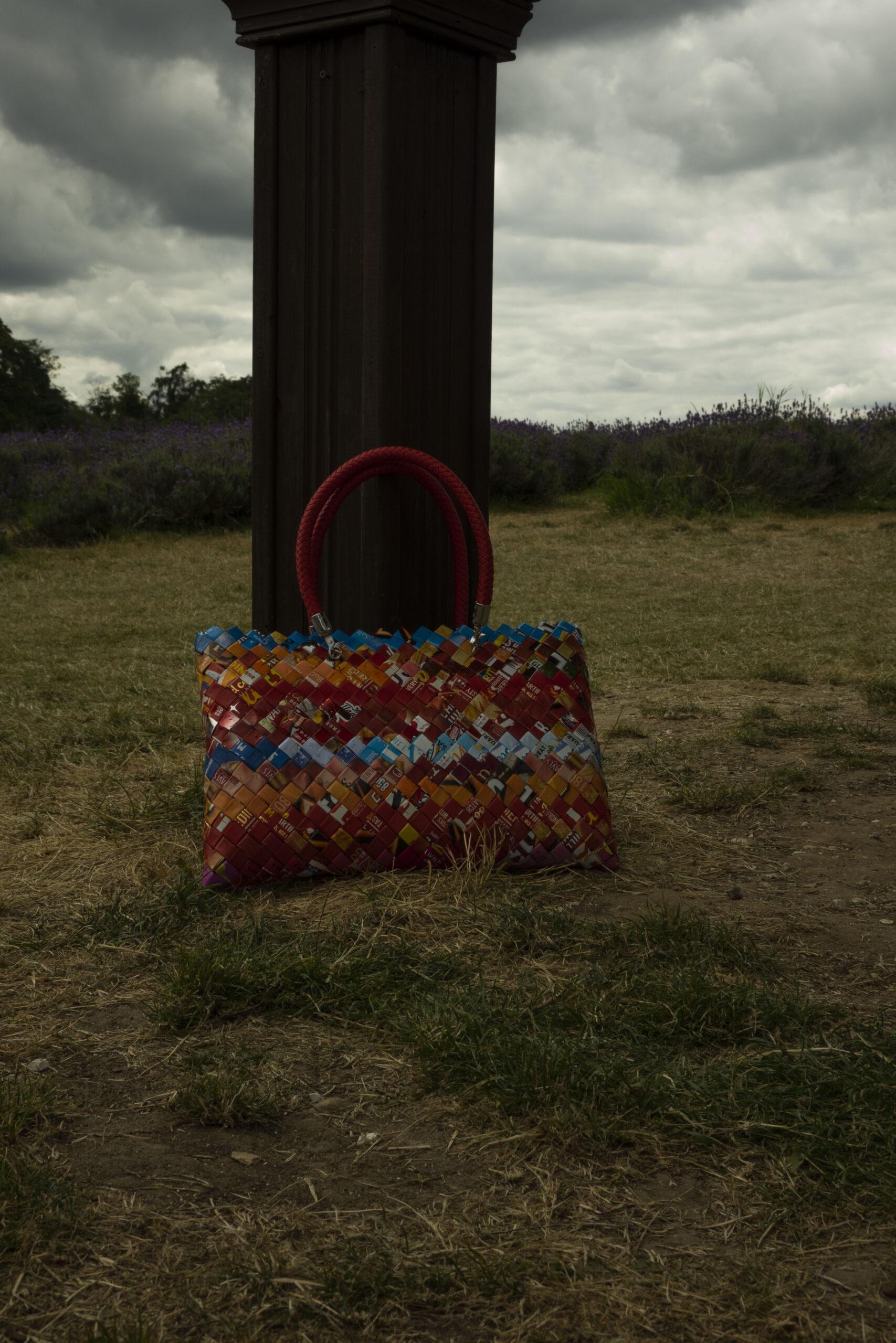 red walkers crisps bag